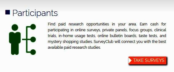 Paid Surveys Survey Club - Claims