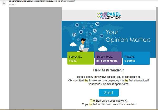 Paid Surveys The Panel Station - Available Surveys