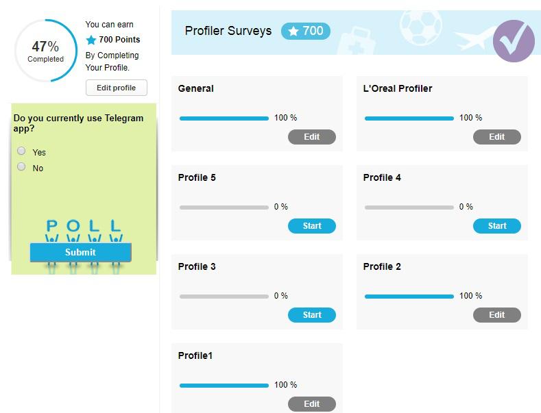 Paid Surveys The Panel Station - Profiler Surveys