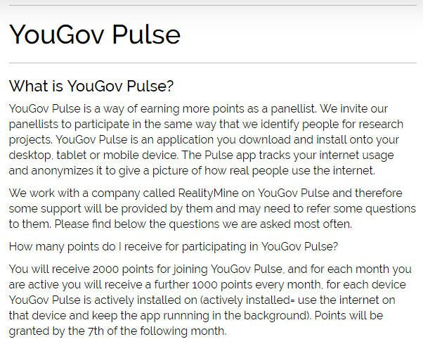 Paid Surveys YouGov - Pulse