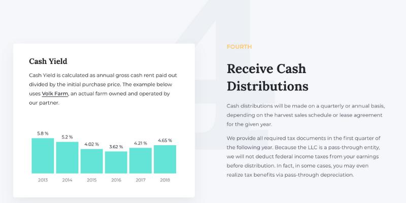 receive cash distributions