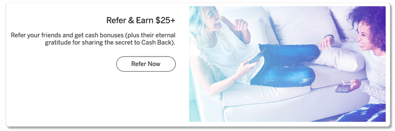 refer earn $25+ on rakuten