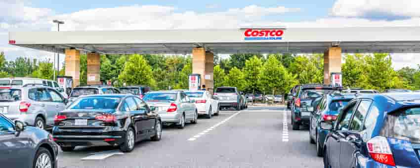 save money on gas at costco