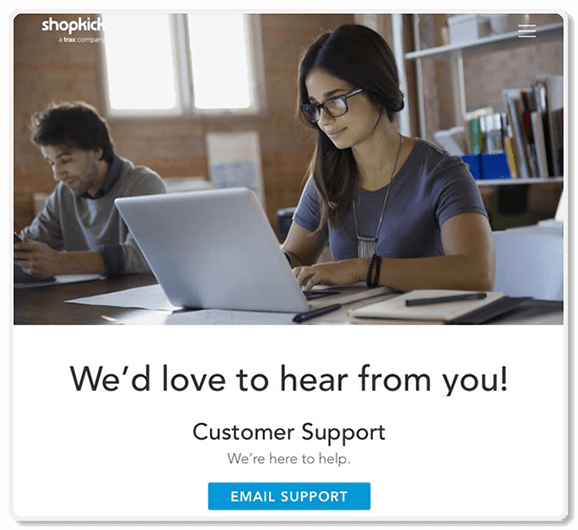 shopkick email customer support