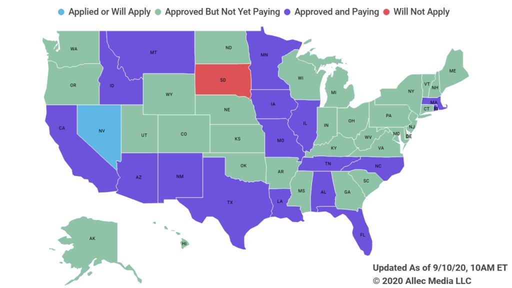 state unemployment update fema grants