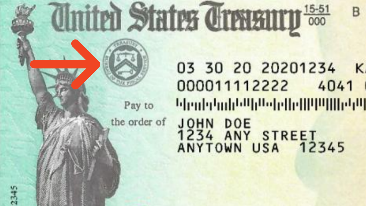 stimulus check treasury seal