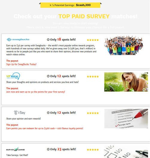 Survey Site Reviews Survey Momma - Confirm Email Landing Page