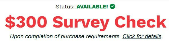 Survey Website Survey Voices Email Offer