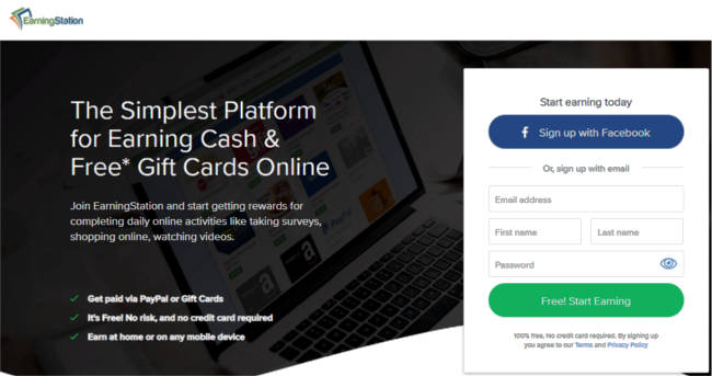 Surveys for Cash Earning Station - Join