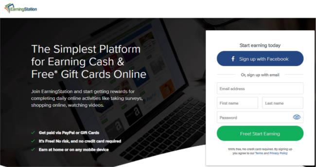 Surveys for Cash Earning Station - Join