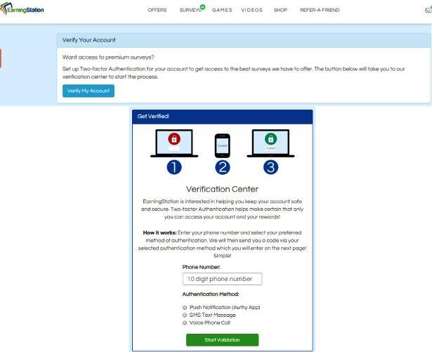 Surveys for Cash Earning Station - Premium Surveys