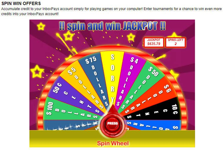 Surveys for Money Inbox Pays - Spin and Win