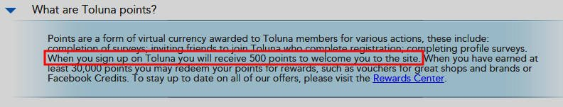 Surveys for Money Toluna - Signup Bonus