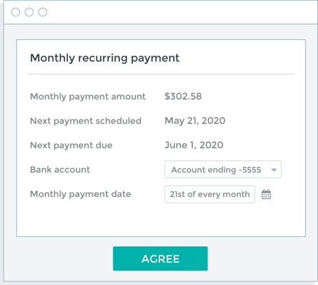upstart receiving loan