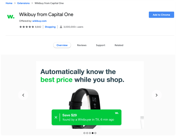 wikibuy from capital one