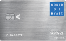 world of hyatt credit card 2020